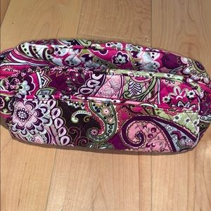 vera bradley travelling makeup case